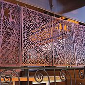 Для дома и интерьера handmade. Livemaster - original item The carved lattice decorative. Handmade.