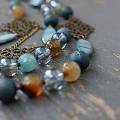 Украшения handmade. Livemaster - original item Necklace and earrings,