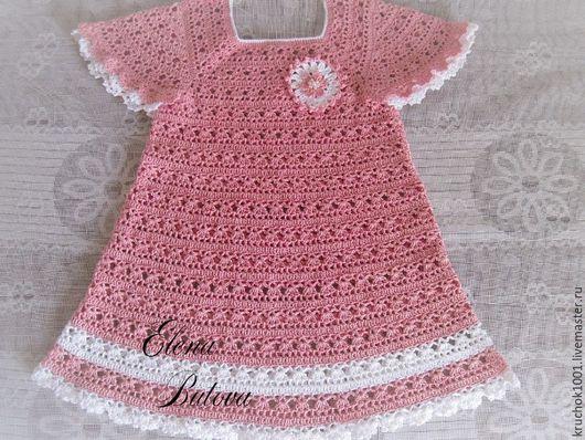 """Одежда для девочек, ручной работы. Ярмарка Мастеров - ручная работа. Купить Платье """" Маленькая модница"""". Handmade. Кремовый, платье"""
