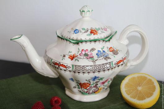 """Винтажная посуда. Ярмарка Мастеров - ручная работа. Купить Кофейник """"Китайская роза"""" Англия. Handmade. Кофейник, кофе"""