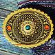 Шкатулки ручной работы. Шкатулка из бересты с малахитом и янтарем. Подарки на все случаи жизни (beresta-ural). Интернет-магазин Ярмарка Мастеров.