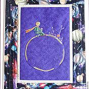"""Картины и панно ручной работы. Ярмарка Мастеров - ручная работа Панно """"Маленький принц"""". Handmade."""