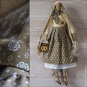 Куклы и игрушки ручной работы. Ярмарка Мастеров - ручная работа Эмили - кукла Тильда в бохо стиле. Handmade.