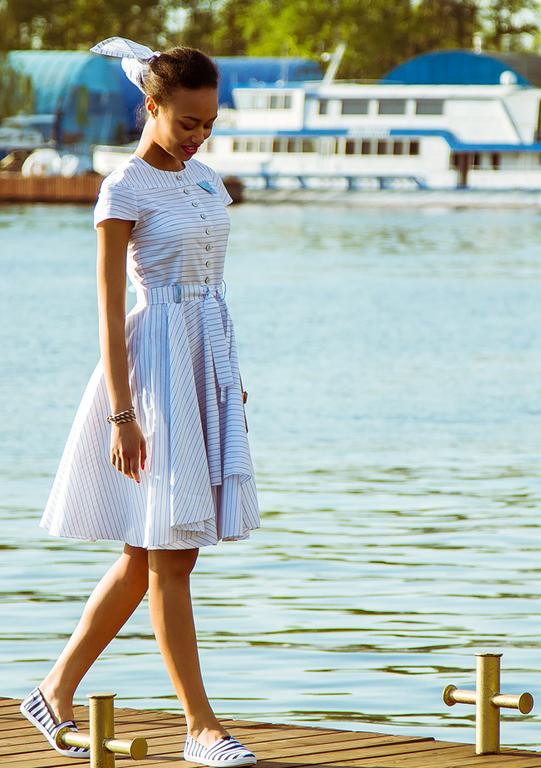 Купить платье с якорем