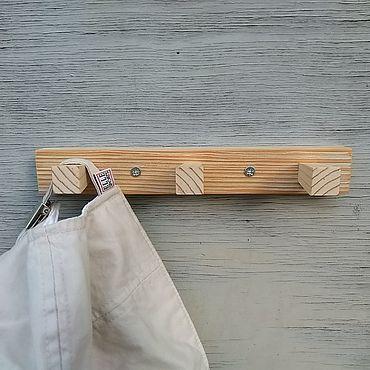 Мебель ручной работы. Ярмарка Мастеров - ручная работа Вешалки: Вешалка из сосны #6. Handmade.