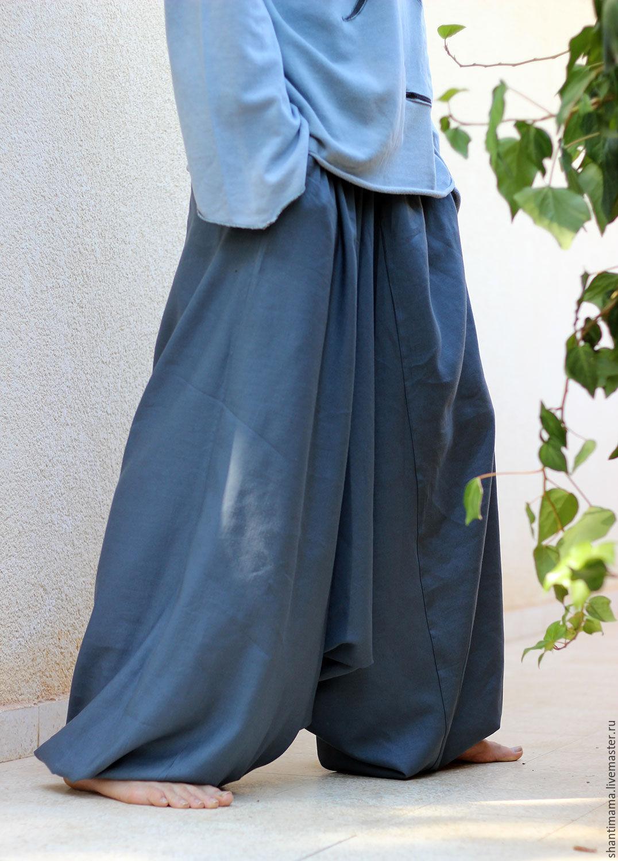 Зуавы афгани штаны с мотней джинсовые купить germany with