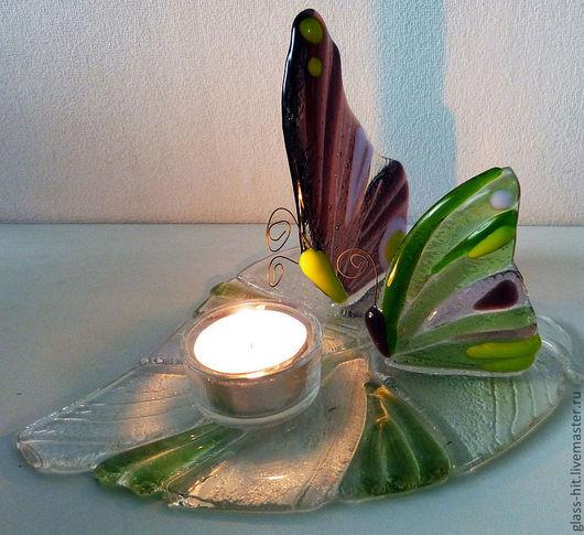 """Подсвечник """" Бабочки"""". Украсит любой стол и придаст романтическое настроение вечеру! Это прекрасный подарок для милых дам."""