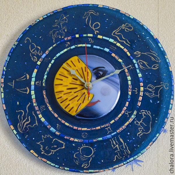 Часы-фьюзинг `Знаки зодиака`