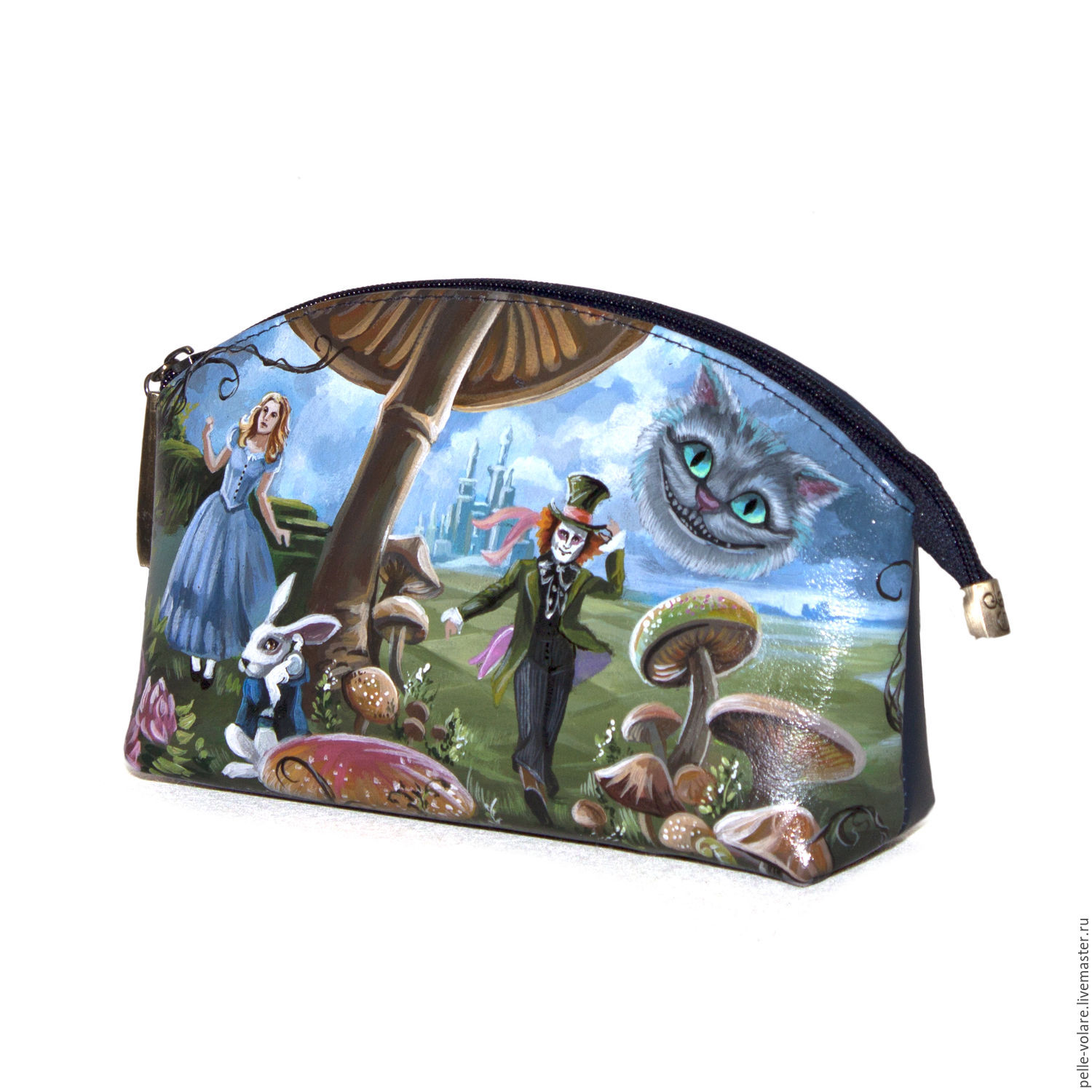 """Cosmetic bag """"In the footsteps of Alice"""", Beauticians, St. Petersburg,  Фото №1"""