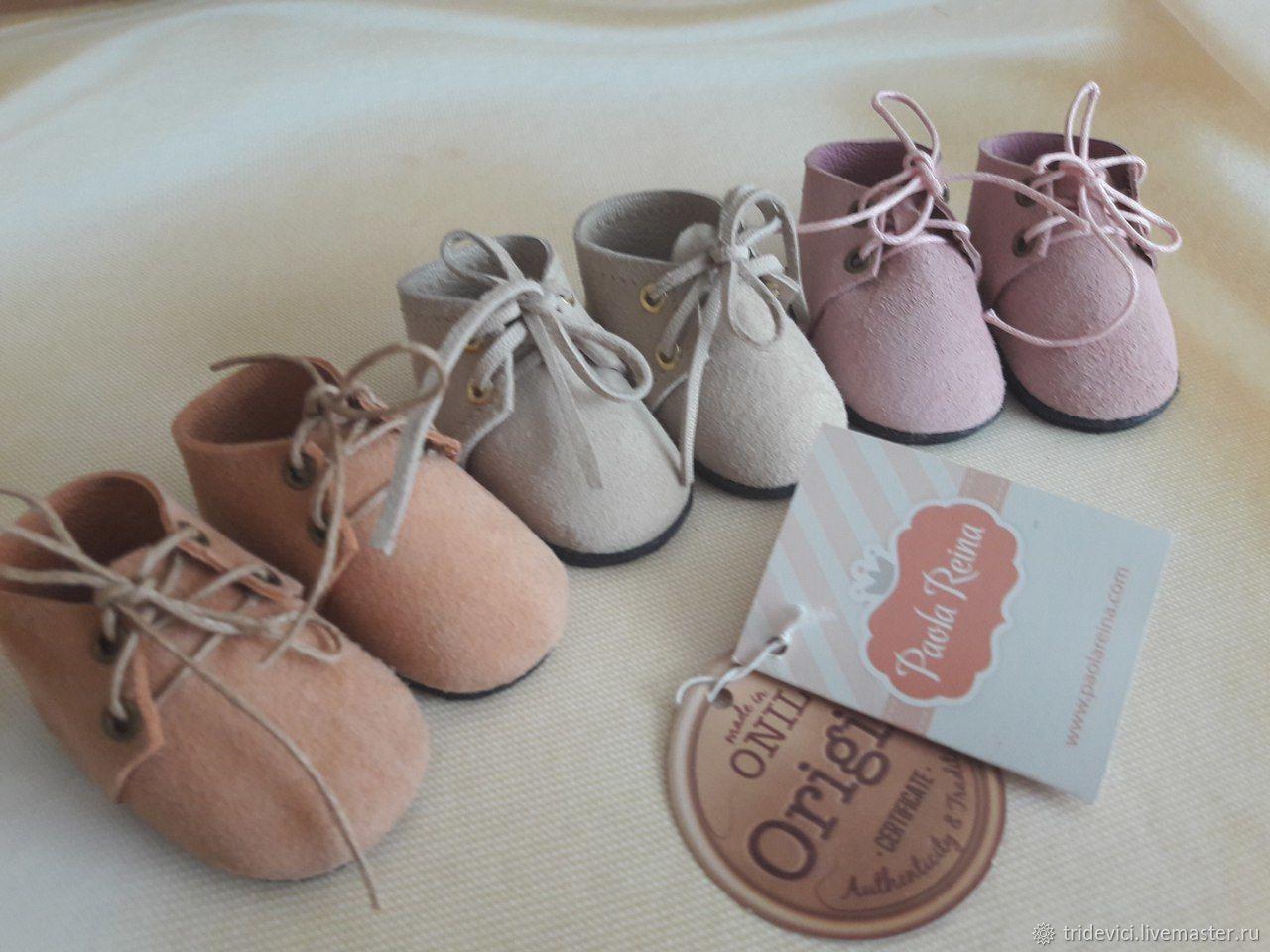 Одежда для кукол ручной работы. Ярмарка Мастеров - ручная работа. Купить Ботинки для Paola. Handmade. Комбинированный, кукольные ботинки