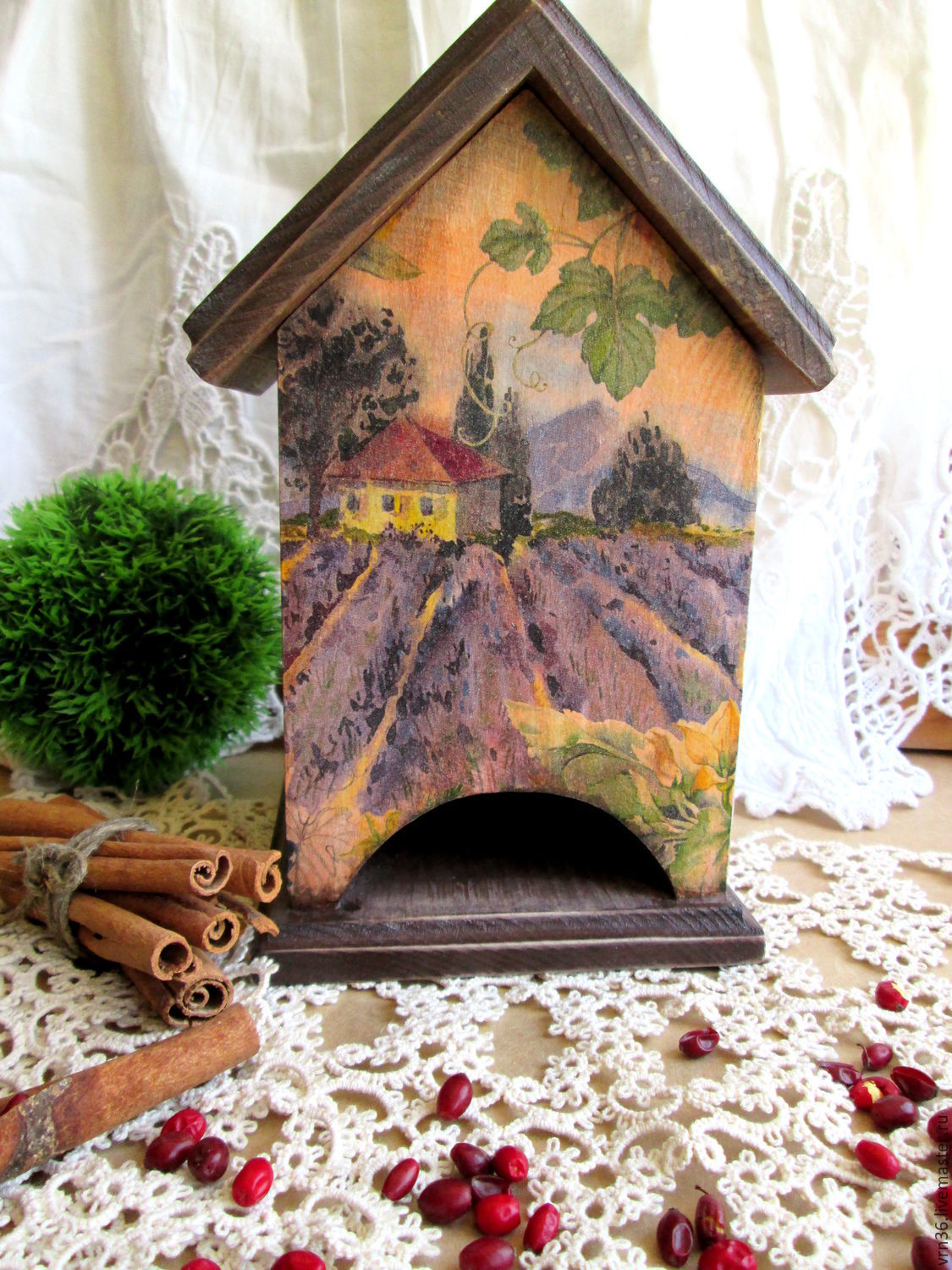 'House in Provence' for tea bags(cedar), Houses, Voronezh,  Фото №1