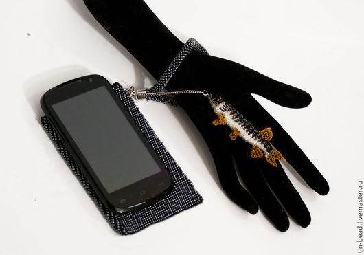 """Для телефонов ручной работы. Ярмарка Мастеров - ручная работа. Купить Чехол для телефона и подвеска-стилус """"По щучьему веленью..."""". Handmade."""