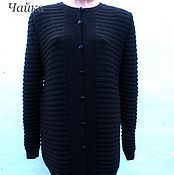 Одежда handmade. Livemaster - original item Knitted cardigan female.. Handmade.