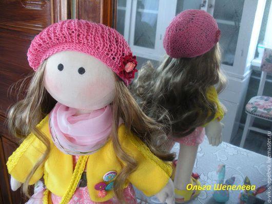 Человечки ручной работы. Ярмарка Мастеров - ручная работа. Купить текстильная кукла Маша. Handmade. Разноцветный, бязь