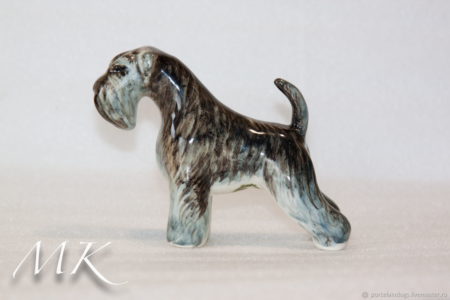 Non-purchased miniature Schnauzer ' naturel', Figurines, Moscow,  Фото №1