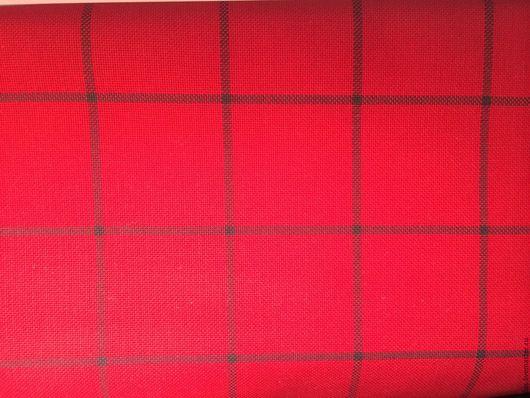 Вышивка ручной работы. Ярмарка Мастеров - ручная работа. Купить канва  в клеточку  для вышивания  (равномерка) Германия. Handmade. Ткань