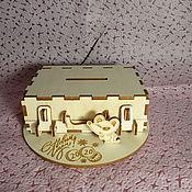 Копилки ручной работы. Ярмарка Мастеров - ручная работа Копилка дипломат на подставке с мышкой.. Handmade.
