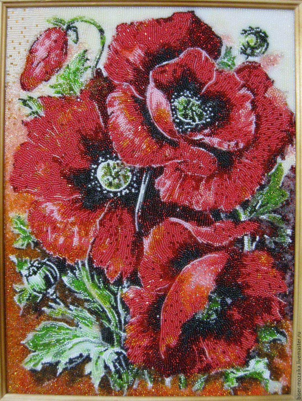 Мозаика из бисера на клею 98