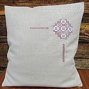 Pillow handmade. Livemaster - original item Pillow case 42/42 Ivanovo line No. №2 decorative. Handmade.