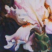 Картины и панно handmade. Livemaster - original item Irises . Oil painting custom 80 h80 cm.. Handmade.