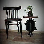 """Для дома и интерьера ручной работы. Ярмарка Мастеров - ручная работа Чайный столик  """" Самовар """". Handmade."""