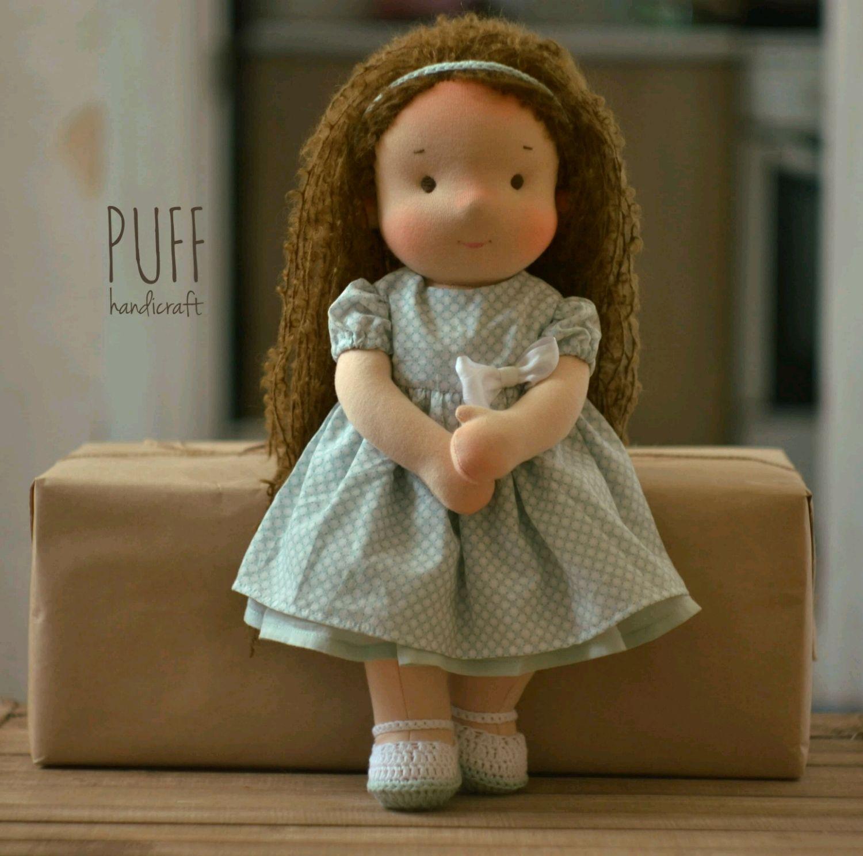 Вальдорфская кукла ростом 35 см, Вальдорфские куклы и звери, Одесса,  Фото №1