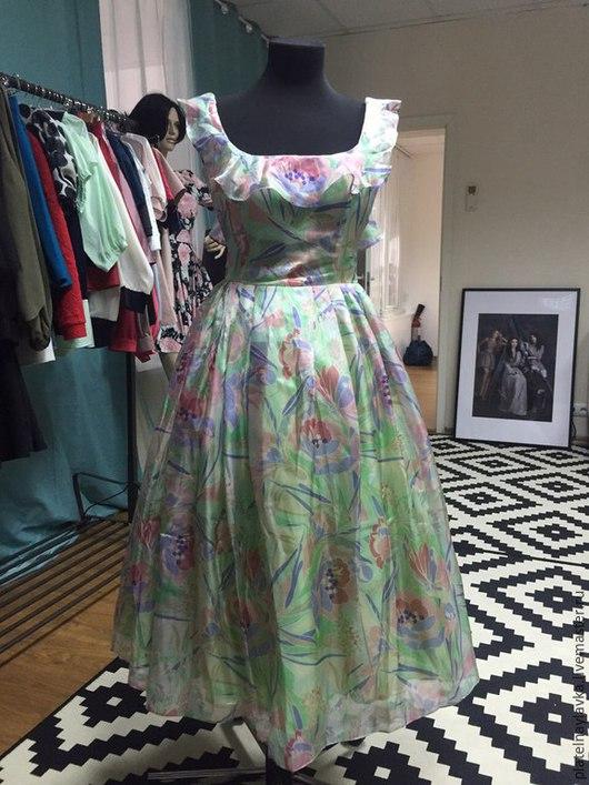 """Платья ручной работы. Ярмарка Мастеров - ручная работа. Купить Платье """"Алиса"""". Handmade. Разноцветный, Платье нарядное, летнее платье"""
