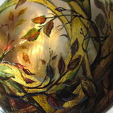 """Украшения ручной работы. Ярмарка Мастеров - ручная работа Кулон """"Лесной мотив"""". Handmade."""