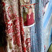 Одежда ручной работы. Ярмарка Мастеров - ручная работа платье на лето ТРИ ШИФОНА. Handmade.