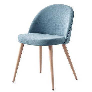 Мебель ручной работы. Ярмарка Мастеров - ручная работа Стул Берген blue (голубой). Handmade.