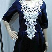 """Одежда ручной работы. Ярмарка Мастеров - ручная работа Платье для девушки """"Белое кружево"""". Handmade."""