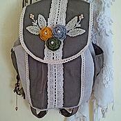 Рюкзаки ручной работы. Ярмарка Мастеров - ручная работа Бохо-рюкзак. Handmade.