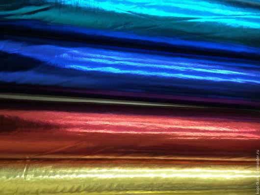 Шитье ручной работы. Ярмарка Мастеров - ручная работа. Купить Парча стрейч (красная и бирюзовая). Handmade. Комбинированный, ткань, стрейч