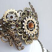 Субкультуры ручной работы. Ярмарка Мастеров - ручная работа Стимпанк браслет,стимпанк кольцо, браслет в стиле стимпанк/ Steampunk. Handmade.