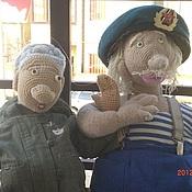 Куклы и игрушки ручной работы. Ярмарка Мастеров - ручная работа ФЕДОТ и ФЕНЯ куклы ручной работы. Handmade.