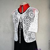 Одежда ручной работы. Ярмарка Мастеров - ручная работа Болеро ажурное. Handmade.