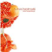 Цветы и флористика ручной работы. Ярмарка Мастеров - ручная работа Ароматический топиарий Апельсиновый сок. Handmade.