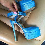 Обувь ручной работы. Ярмарка Мастеров - ручная работа Босоножки Juli. Handmade.
