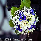 Свадебный салон ручной работы. Ярмарка Мастеров - ручная работа (Букет невесты из живых цветов). Handmade.