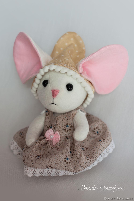 Мышка с большими ушами, Мягкие игрушки, Тула,  Фото №1