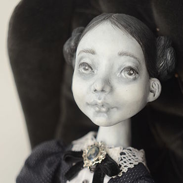 """Куклы и игрушки ручной работы. Ярмарка Мастеров - ручная работа Авторская кукла Полина.серия""""сейчас вылетит птичка"""". Handmade."""