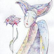 Картины и панно ручной работы. Ярмарка Мастеров - ручная работа My Angel. Handmade.