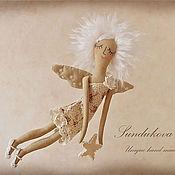 """Куклы и игрушки ручной работы. Ярмарка Мастеров - ручная работа """"Ангел заветных желаний"""" - авторская кофейная куколка. Handmade."""