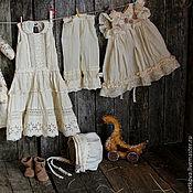 Куклы и игрушки ручной работы. Ярмарка Мастеров - ручная работа интерьерная коллекционная текстильная кукла Маленькая птичница Амели. Handmade.