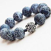 Rosary handmade. Livemaster - original item Rosary Earthy Dragon in silver. Handmade.