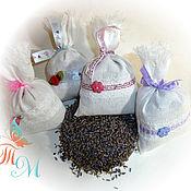 Сувениры и подарки ручной работы. Ярмарка Мастеров - ручная работа Ароматическое саше с лавандой. Handmade.