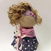 Куклы и игрушки ручной работы. Ярмарка Мастеров - ручная работа Тетя Мотя. Интерьерная текстильная кукла.. Handmade.
