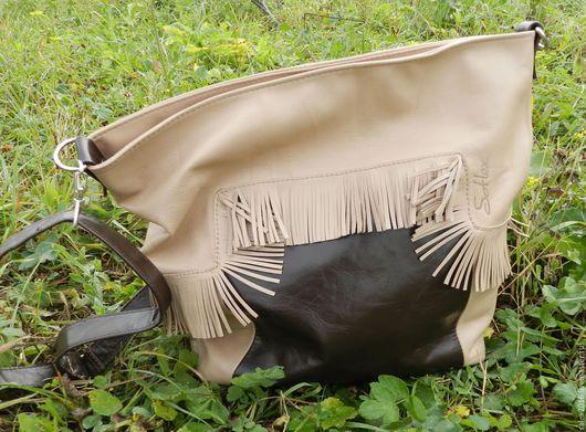 Женские сумки ручной работы. Ярмарка Мастеров - ручная работа. Купить сумка - осеннее настроение. Handmade. Коричневый, однотонный