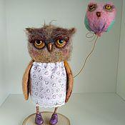 Куклы и игрушки ручной работы. Ярмарка Мастеров - ручная работа Сова с шариком. Handmade.