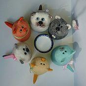 Куклы и игрушки ручной работы. Ярмарка Мастеров - ручная работа А у нас сегодня кошка.... Handmade.